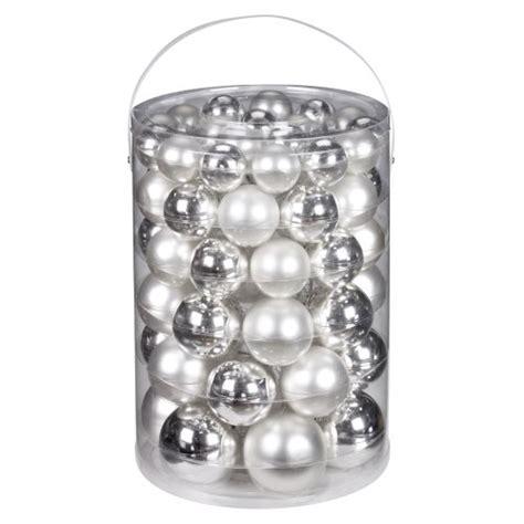 Weihnachtsdeko Fensterbank Silber by Inge Glas 12000e460 Kugelsortiment 60 St 252 Ck Vorteilsdose