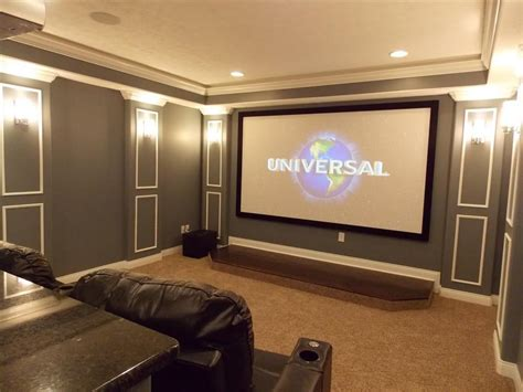 amazing home  theater rooms  brown nuance