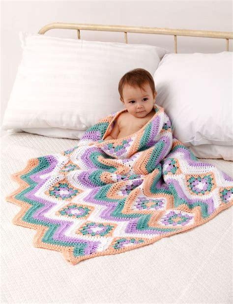 caron yarnspirations yarnspirations com caron baby granny stripes blanket