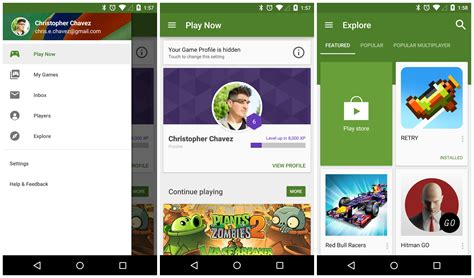 material design google html google play games material design update download