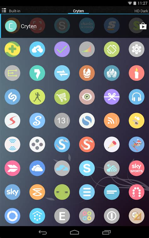 Cryten - Icon Pack 18.1.0 APK Download - Android ...