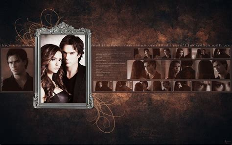 vire diaries wallpaper for laptop damon and elena wallpapers wallpaper cave