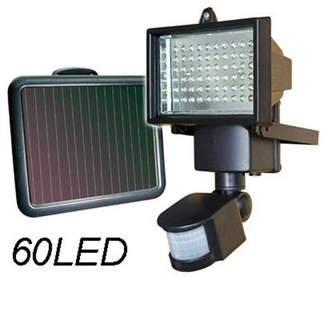 Battery Security Lights Outdoor 60led Solar Panel Security Light Outdoor Floodlight L Sunforce Solar Battery Pir Motion