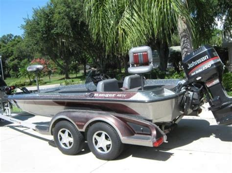 ranger boat covers for sale 1997 ranger 481v bass boat w 150hp johnson cover