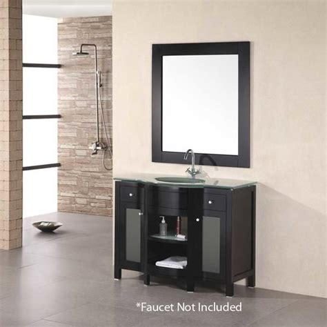 design element bathroom vanities design element 43 quot rome single sink bathroom vanity