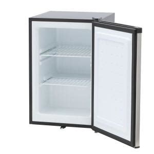 spt 2 1 cu ft upright freezer in stainless steel uf