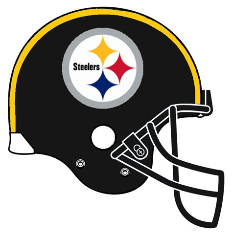 Steelers Helmet Drawing football helmet drawing steelers clipart panda free
