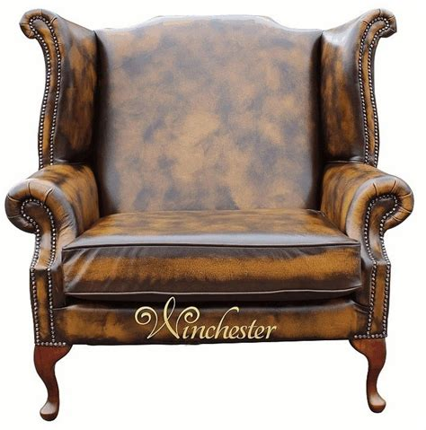 Sofa Wing Klasik saxon classic chesterfield high back wing chair