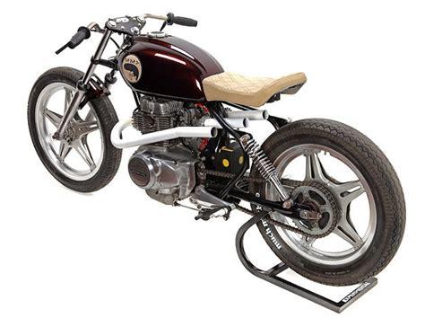 much much go custom motorcycle based on a 1979 honda cb250t