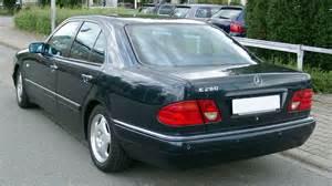 Mercedes W210 File Mercedes W210 Rear 20080809 Jpg Wikimedia Commons