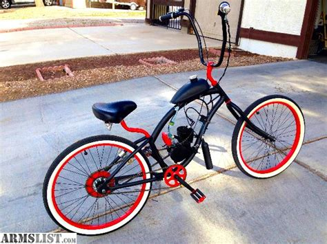 Motorized For Sale by Armslist For Sale Rat Rod Motorized Bicycle