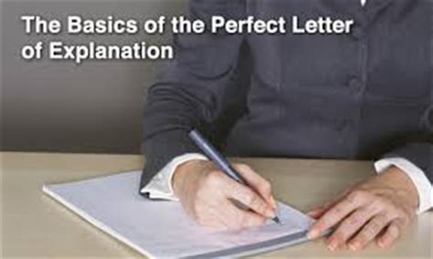 Sle Letter Of Explanation For Derogatory Credit Letter Of Explanations To Mortgage Underwriters