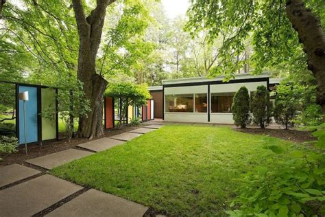 outdoor gardening mid century modern home with 17 scenic mid century modern landscape designs you need in