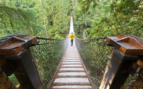 Lynn Canyon Park and Suspension Bridge   Travel   Leisure