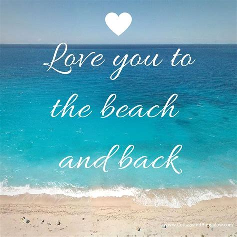 beach themed birthday quotes love you to the beach and back and back again