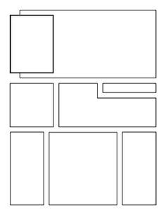 comic book layout template our blank comic book templates feature 30 page layouts and