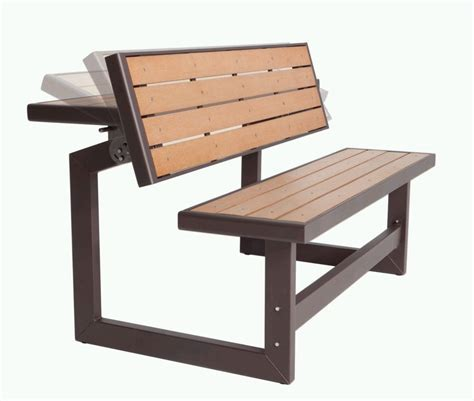 wood bench home depot lifetime outdoor convertible bench the home depot canada