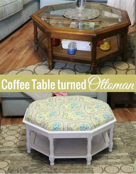 coffee table into ottoman 100 ideas to try about shabby chic furniture