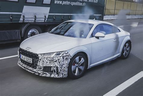 Neu Audi Tt by New Grille And More Power For The New 2018 Audi Tt