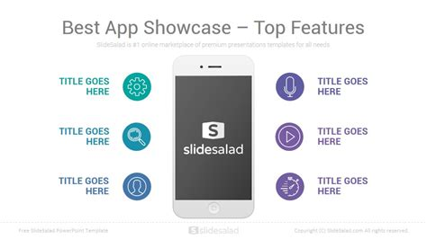 Mobile Template Free by Mobile Apps Free Powerpoint Presentation Template Slidesalad