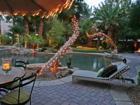 outdoor string light designs decorating ideas