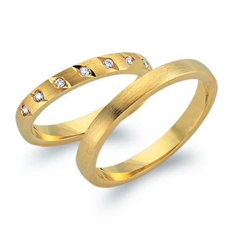 Eheringe 750er Gelbgold by Eheringe 750er Gelbgold 7 Diamanten Wr0707 7s