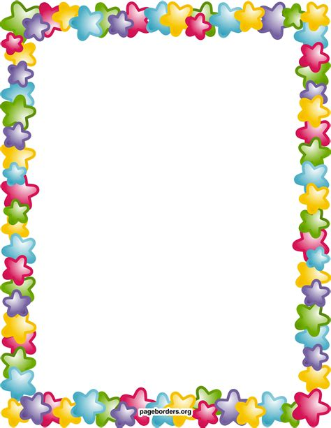 clipart for word clip border for word clipart