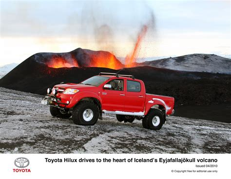 Toyota Hilux Top Gear Top Gear With Toyota Hilux Near Volcano Car News