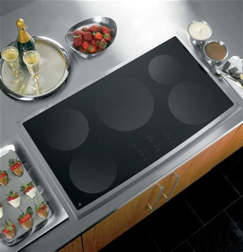 Ge Cooktop Ge Profile Series 36 Quot Electric Induction Cooktop