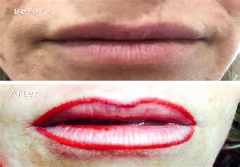 lip liner tattoo aberdeen tattoo lip liner 2 portland beauty care