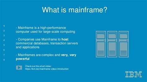 what is the in the world ibm brno mainframe technology