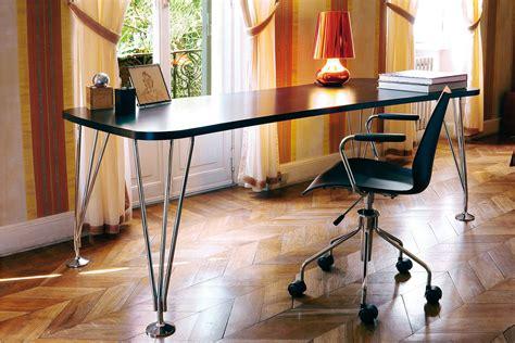 scrivanie kartell max tavolo scrivania kartell di design in acciaio e