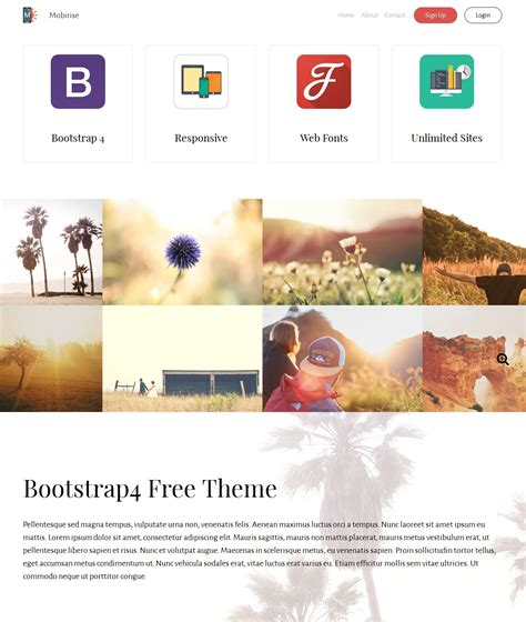 bootstrap layout gallery free download bootstrap image gallery theme