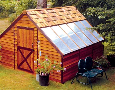shed plans  garden shed greenhouse plans