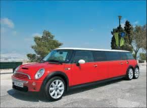 Mini Cooper Limousine Mini On The Block The Mini Cooper Limo