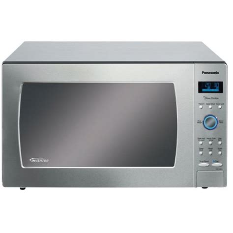 Panasonic Stainless Steel Countertop Microwave Oven by Panasonic Nn Se982s Countertop Microwave Ovens 2 2 Cu Ft