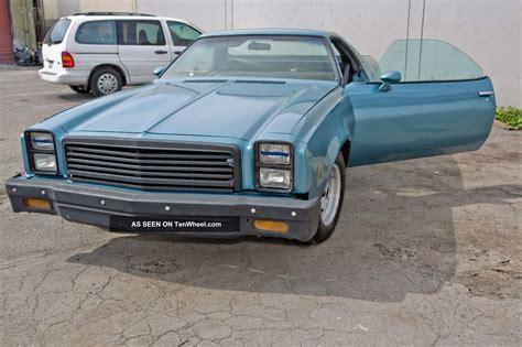 1977 el camino 1977 chevrolet el camino base standard cab pickup 2 door