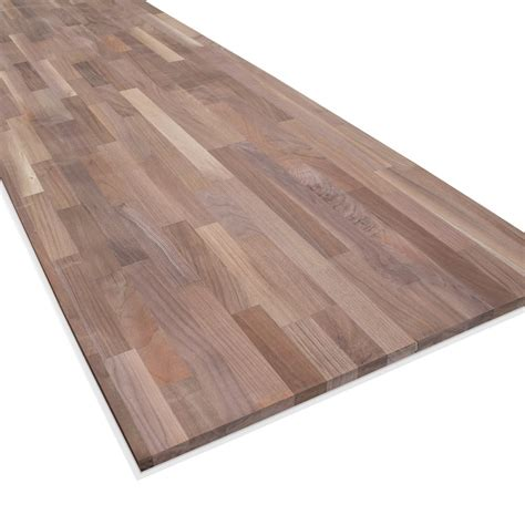 18mm solid american black walnut furniture board from leader stores uk