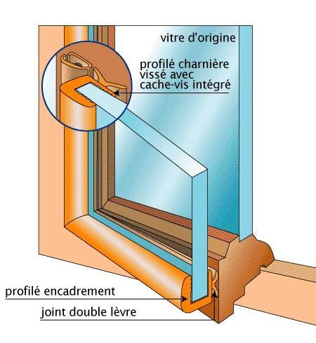 vitrage 55 2 paisseur fenetre isolation phonique finest double vitrage et