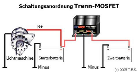 Motorrad Falsch Schalten by Technische Details Trenn Mosfet