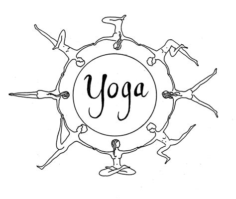 Asana Yoga Colouring Pages Page 2 sketch template