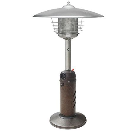 Table Top Patio Heaters Propane Gardensun Hps C Pc 11 000 Btu Bronze Tabletop Propane Gas Patio Heater Best Prices