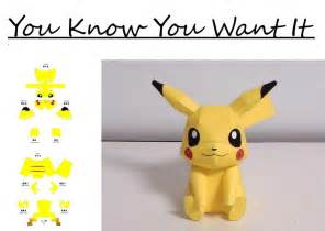 14 best photos of pokemon papercraft pikachu pokemon pikachu