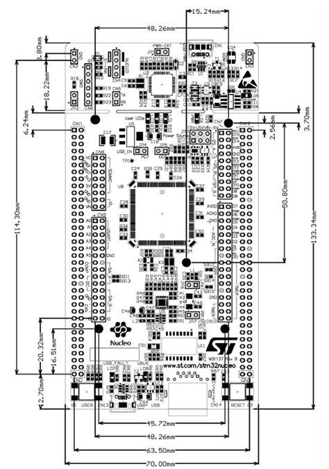 ST NUCLEO-F446ZE Nucleo-144 Mbed Development Board Cortex