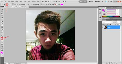 Tutorial Edit Foto Wpap Dengan Photoshop Cs5 | benny95then tutorial pembuatan wpap photoshop cs5