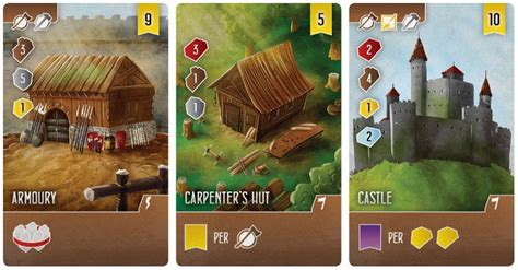 architects   west kingdom board game boards