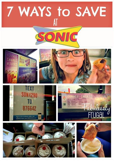 7 Ways To Find Bargains by Seven Ways To Save At Sonic Drive In Fabulessly Frugal