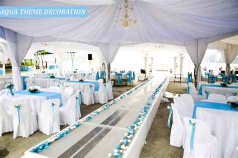 Turquoise And White Wedding Decorations Destination Wedding Theme Ideas At Goa Party Cruisers