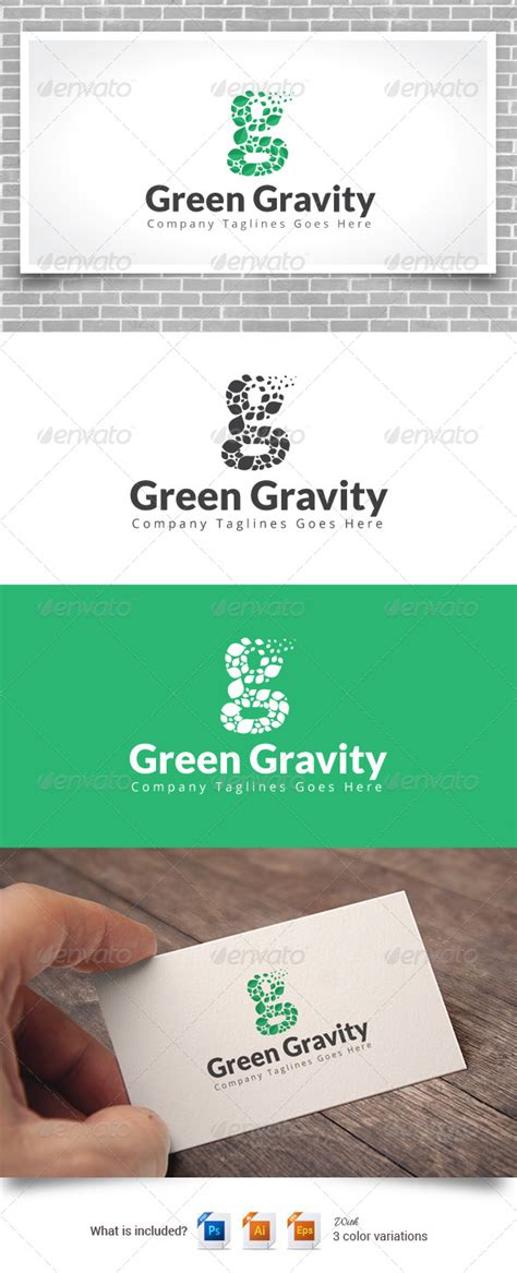 Ncube Green Insert Gravity Element green gravity logo by webincredible graphicriver