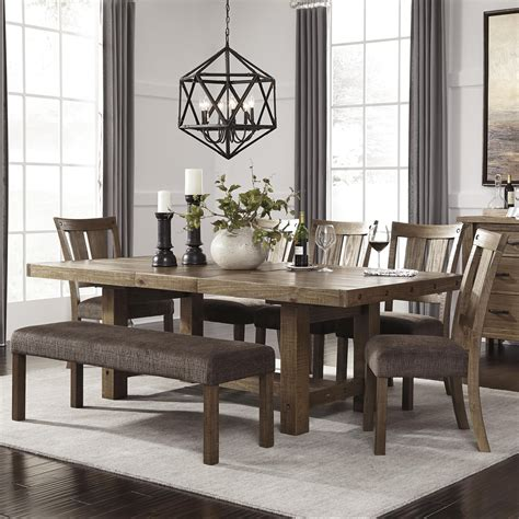 dining room sets with bench dining room cool ashley dining room furniture design